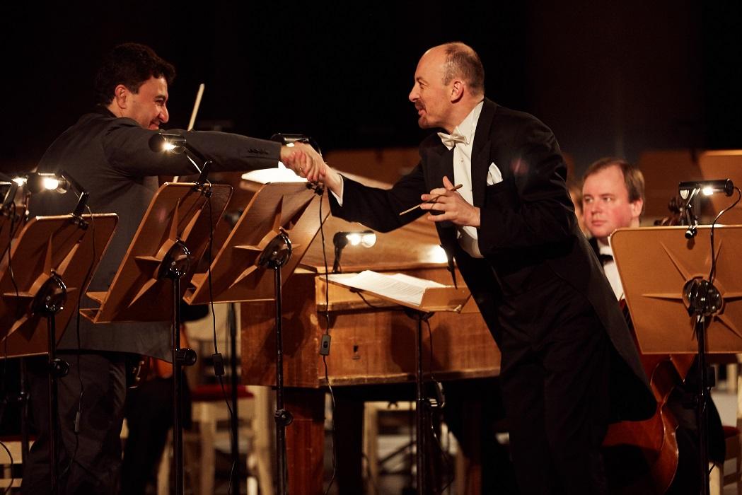Maxim Vengerov, Piotr Sułkowski. II International Violin Festival (violinfest.org). Fot. Daniil Rabovsky