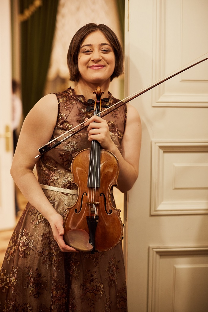 Veriko Tchumburidze (Georgia/Turkey) - 1st Prize Winner of 15th International Henryk Wieniawski Violin Competition (2016)