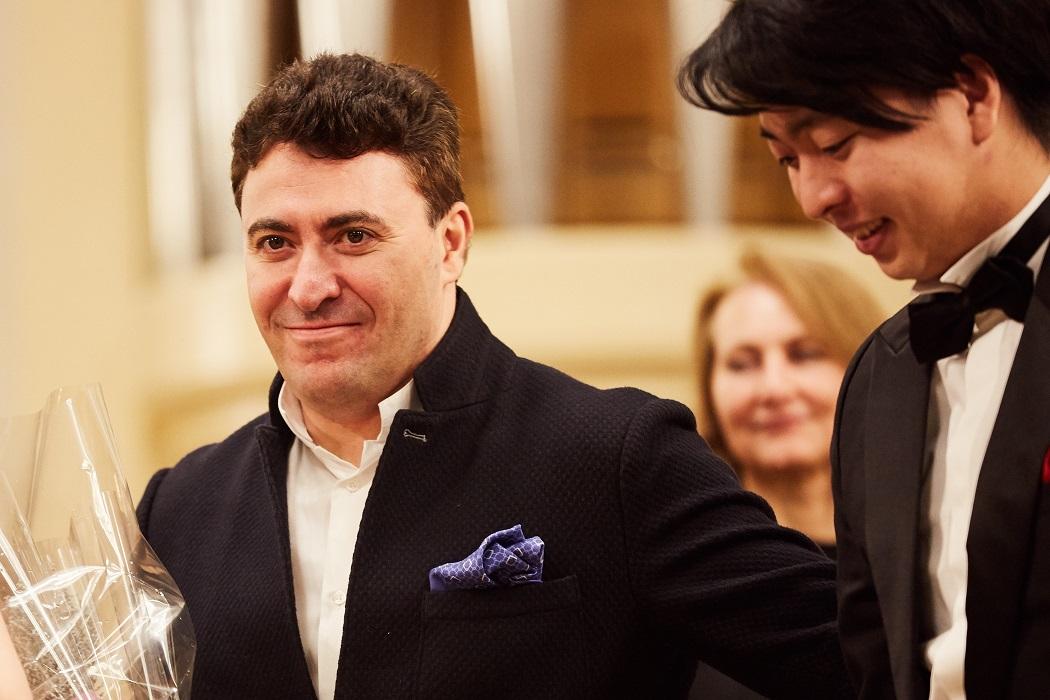 Maxim Vengerov i Seiji Okamoto. II International Violin Festival (violinfest.org). Fot. Daniil Rabovsky