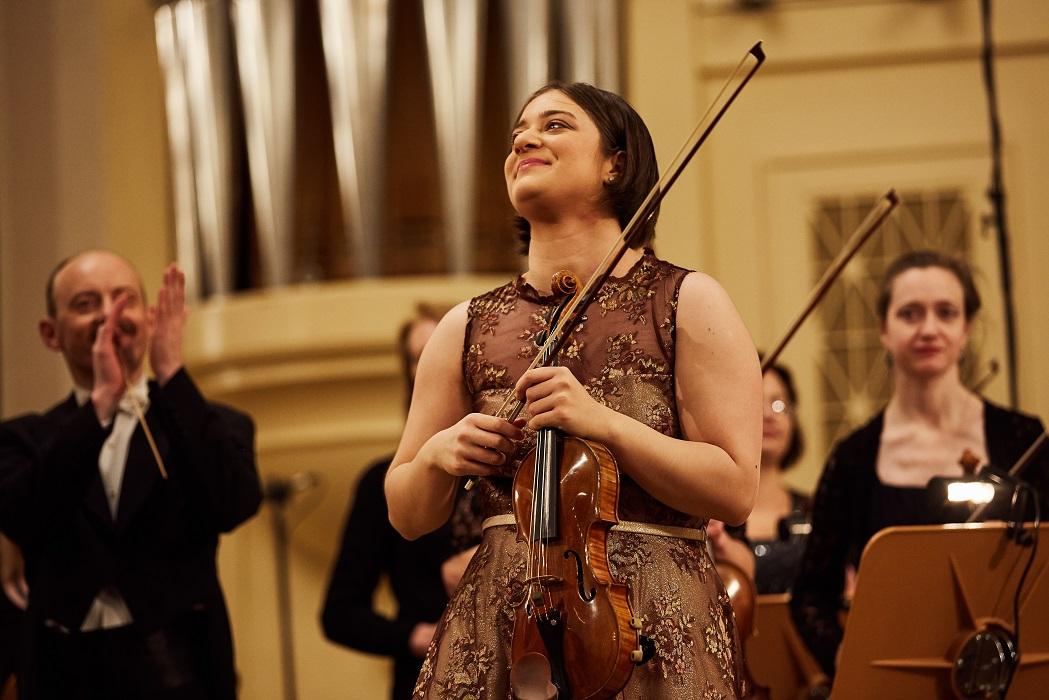 Veriko Tchumburidze. II International Violin Festival (violinfest.org). Fot. Daniil Rabovsky