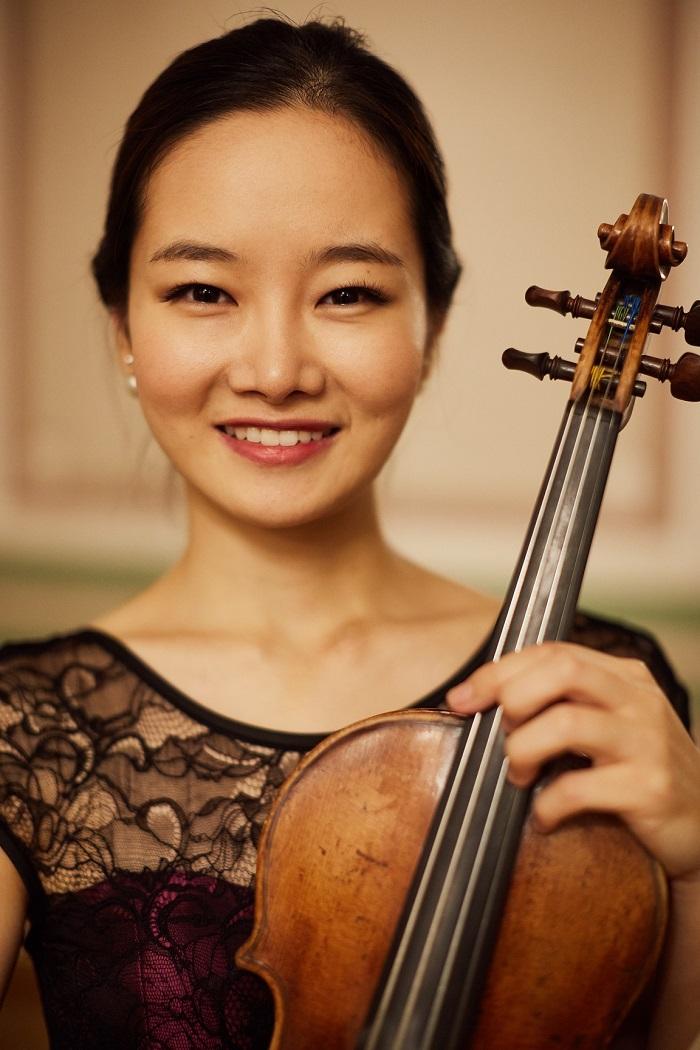 Bomsori Kim. II International Violin Festival (violinfest.org). Fot. Daniil Rabovsky