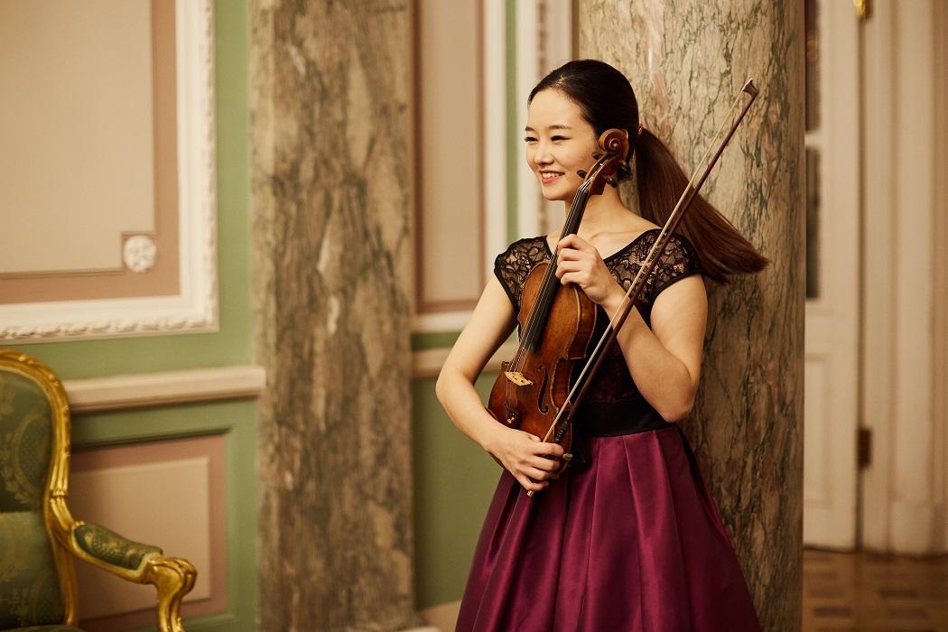 Bomsori Kim, II International Violin Festival (violinfest.org). Fot. Daniil Rabovsky