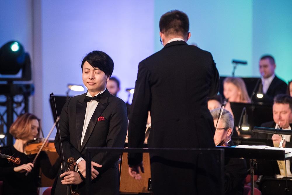 Nagroda Płockiej Orkiestry Symfonicznej im. W. Lutosławskiego - koncert Seiji Okamoto w Płocku (27.01.2017)
