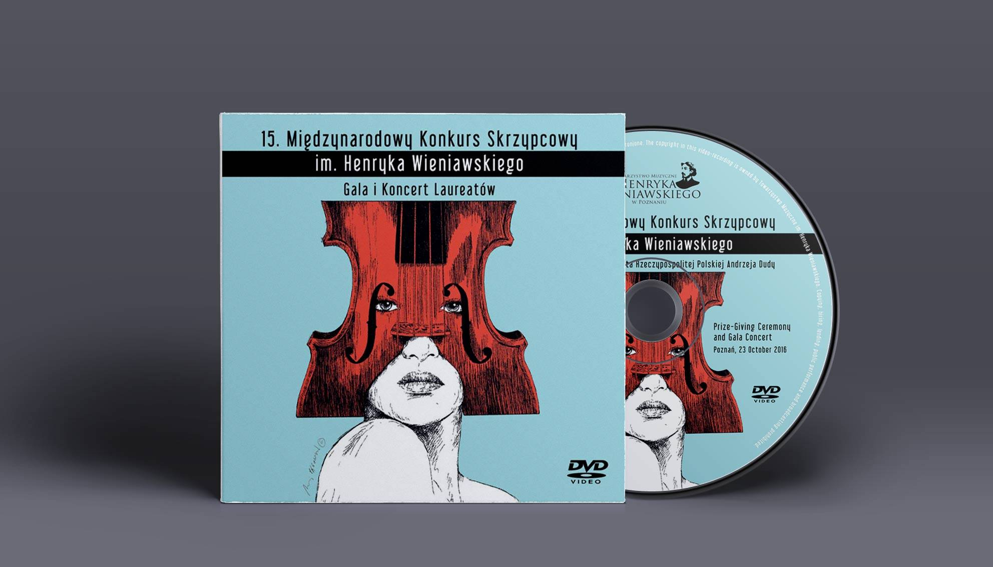 DVD - Gala i Koncert Laureatów 15. Międzynarodowego Konkursu Skrzypcowego im. Henryka Wieniawskiego (2016)
