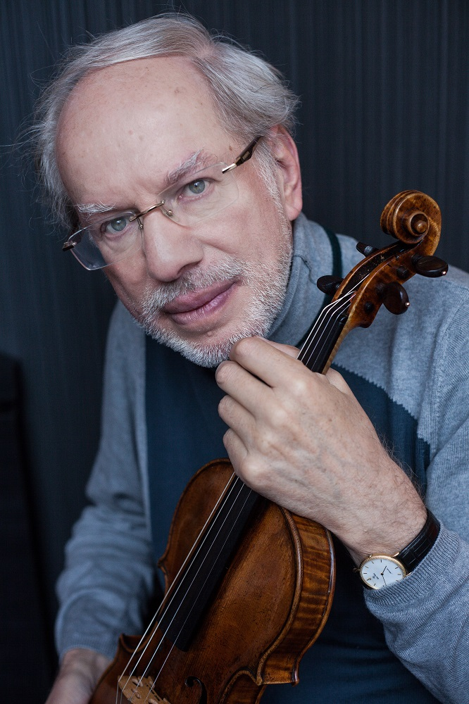 Gidon Kremer – outstanding Latvian violinist and conductor, founder and artistic director of the orchestra Kremerata Baltica celebrates his 70th birthday!