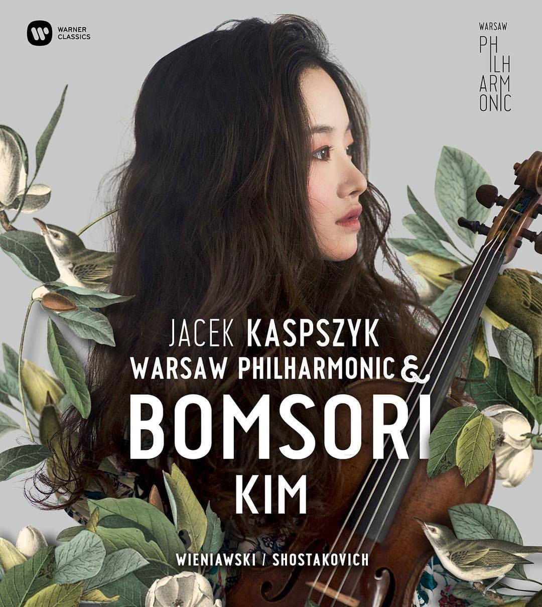 Our prize winner Bomsori Kim records a CD for Warner Classics with the National Philharmonic in Warsaw under the button of Jacek Kaspszyk. Premiere - 27.10.2017!