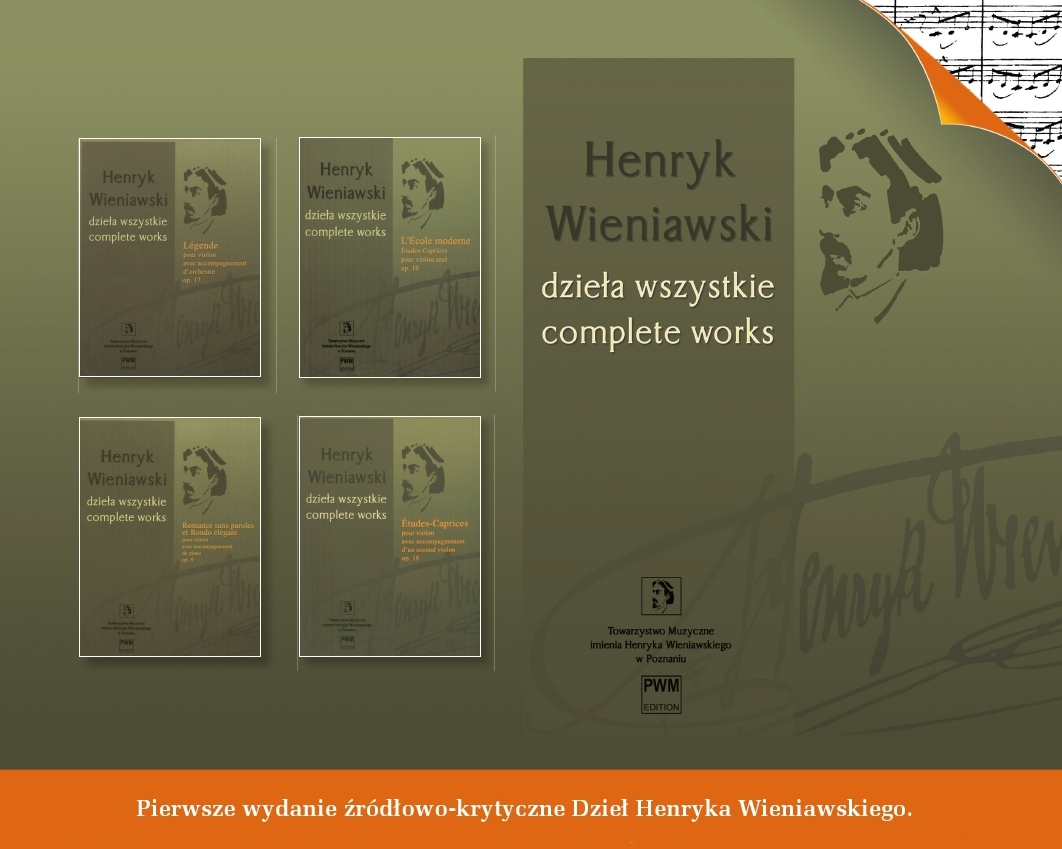 New Scientific and Editorial Board of the Complete Works of Henryk Wieniawski