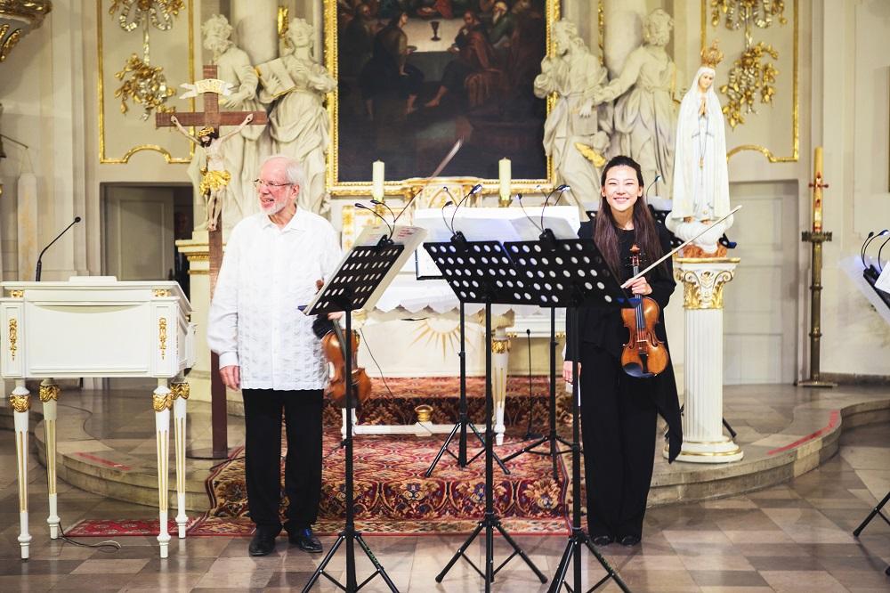 Gidon Kremer & Clara-Jumi Kang - concert in Poznań (30.06.2017, 08:00 PM)
