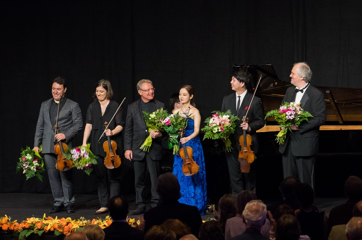 Prize endowed by Musica Mundi Festival: 'Maxim Vengerov & the winners of the 2016 Wieniawski Violin Competition' - concert in Brussels (28.07.2017)