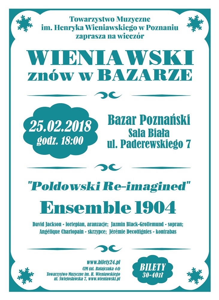 Concert of Ensemble 1904: